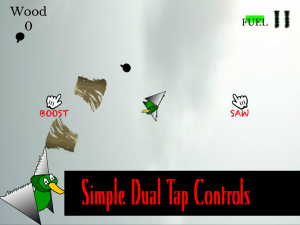 Saw Duck has simplistic game controls