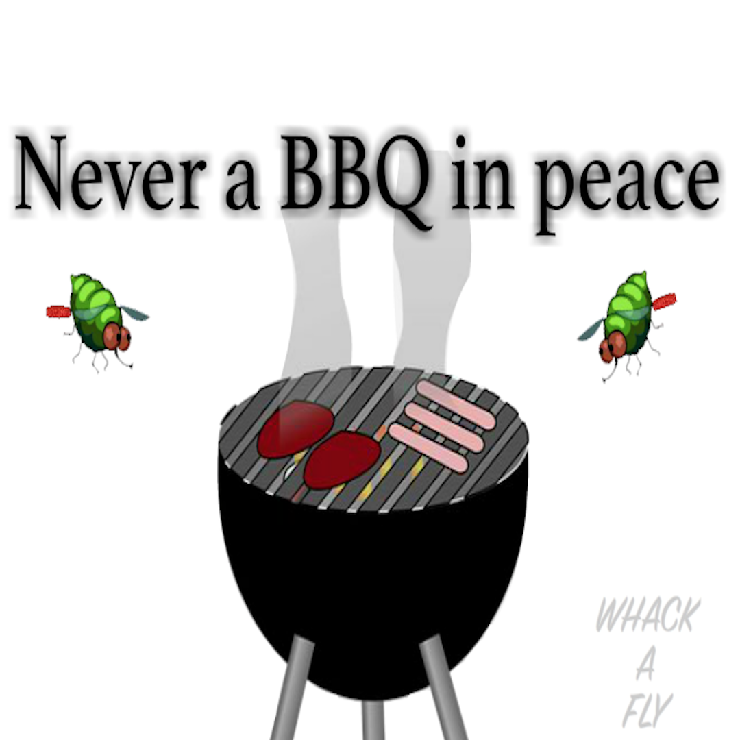 never a bbq in peace